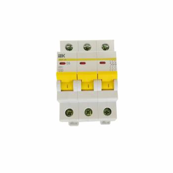 Автоматический выключатель BA47-29 3Р С6 ЭВП  3