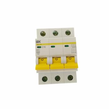 Автоматический выключатель ВА47-29 3Р С16 ЭВП 9